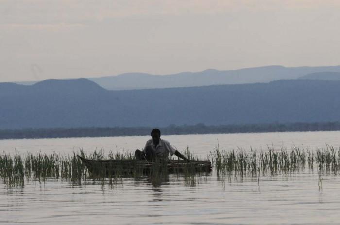 Njemp Fishing on Lake Baringo